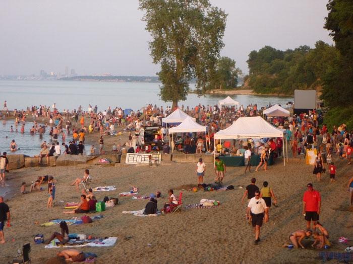 Summer Beach Party At Huntington Westlake Bay Village Observer